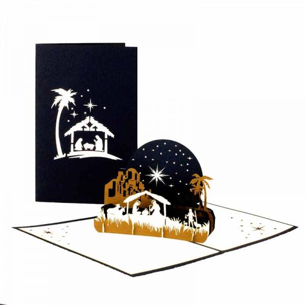 Pop-Up-Karte Weihnachten
