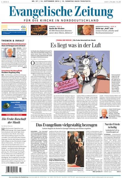 Evangelische Zeitung Jahresabonnement Digital