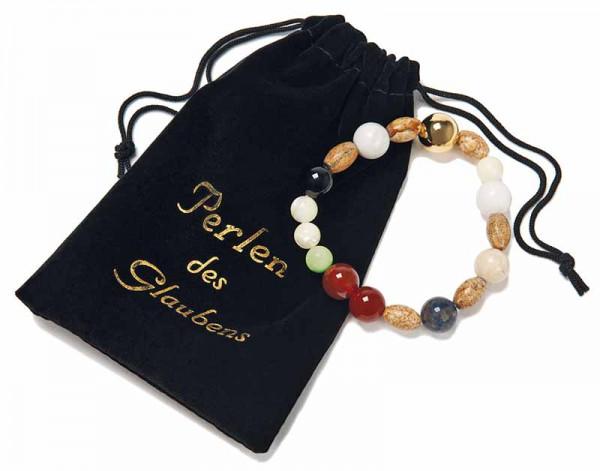 Perlen des Glaubens Stein