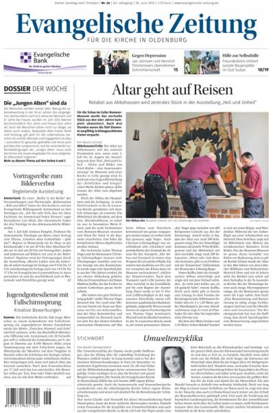 Evangelische Zeitung - Schnupperabonnement