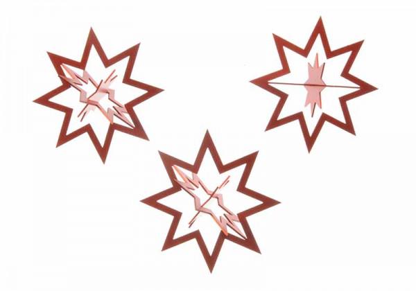 Sterne, 3er-Pack
