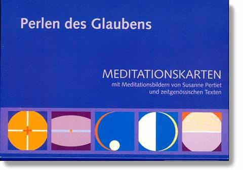 Meditationskarten - Perlen des Glaubens