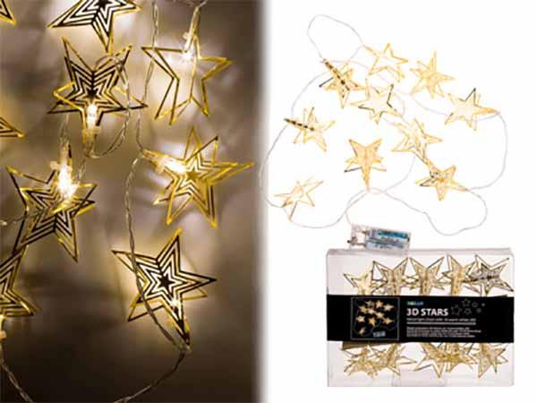 Lichterkette Sterne, LED