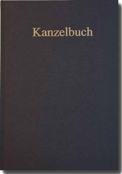 Kanzelbuch - Kollektenbuch