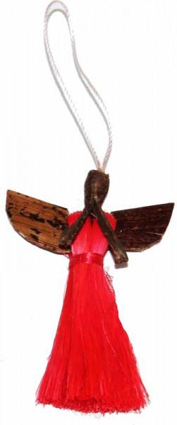 Engel-Anhänger, rot