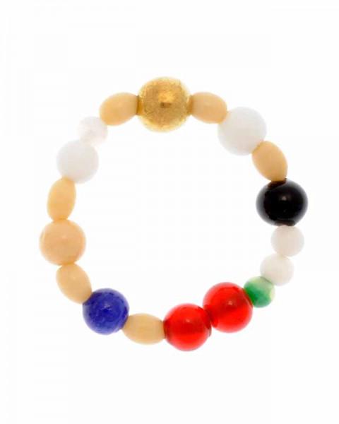 Perlen des Glaubens aus Glas für Kinder