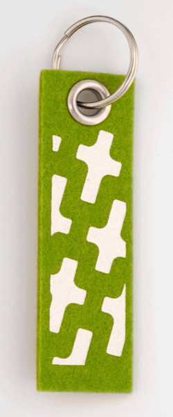 Schlüsselanhänger Gezeitenkreuz
