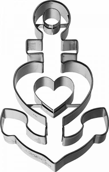 Glaube Liebe Hoffnung Ausstechform